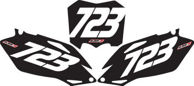motocross graphics, number plate backgrounds, kawasaki, honda, suzuki, yamaha, mx graphic kits